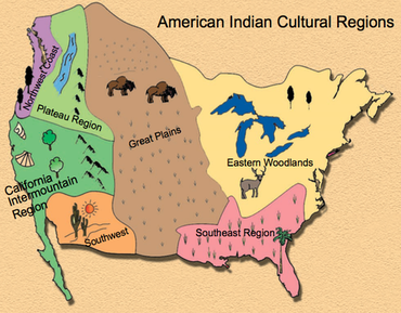 A Path of Learning: Native American Cultural Regions.